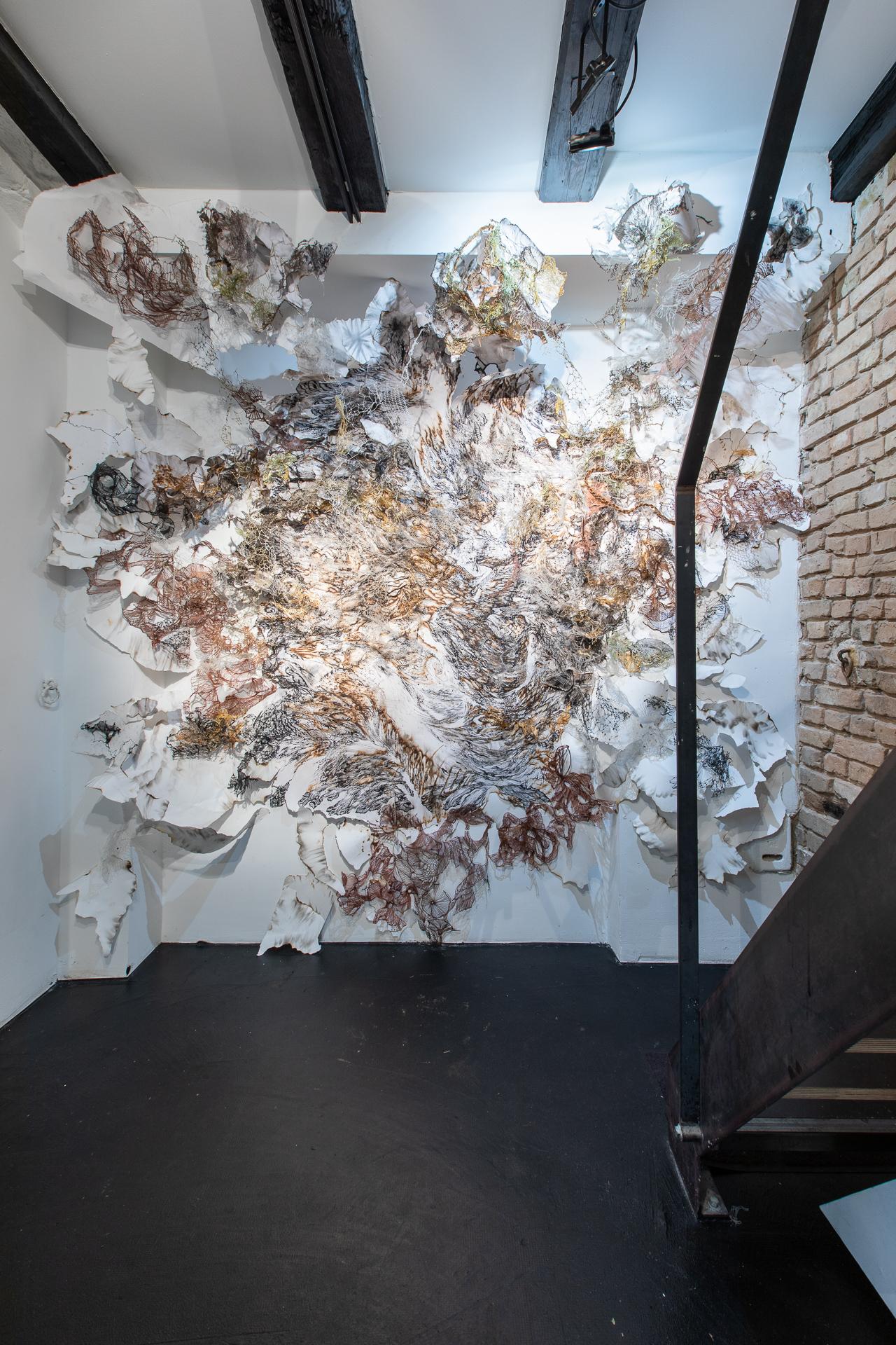 exhibition view NIGREDO / Foto by: Janosch Weiss / ©KWADRAT & artist