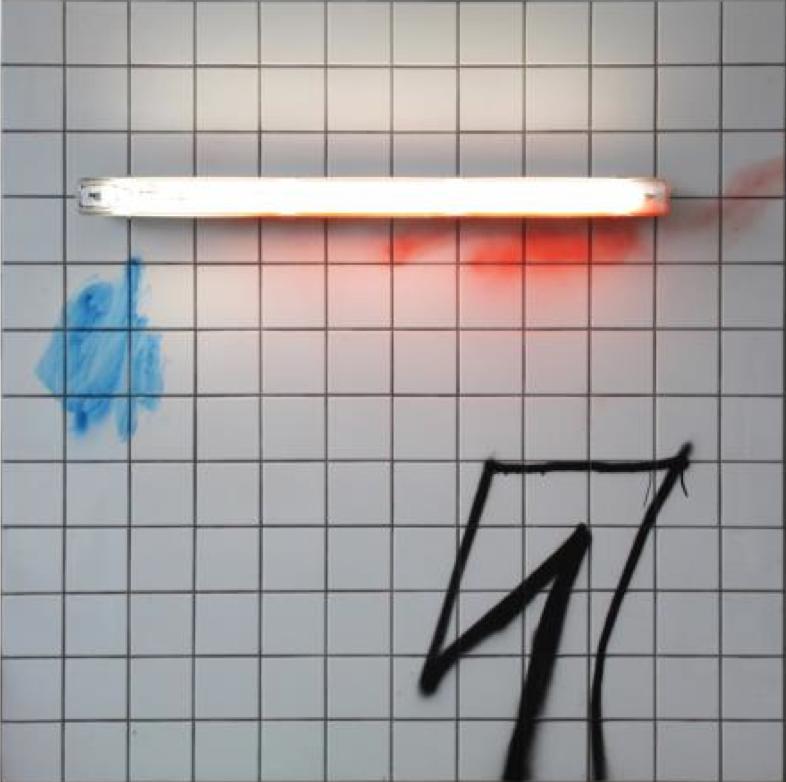 Lukas Glinkowski, Tunnel, 120 x 120 cm, 2015