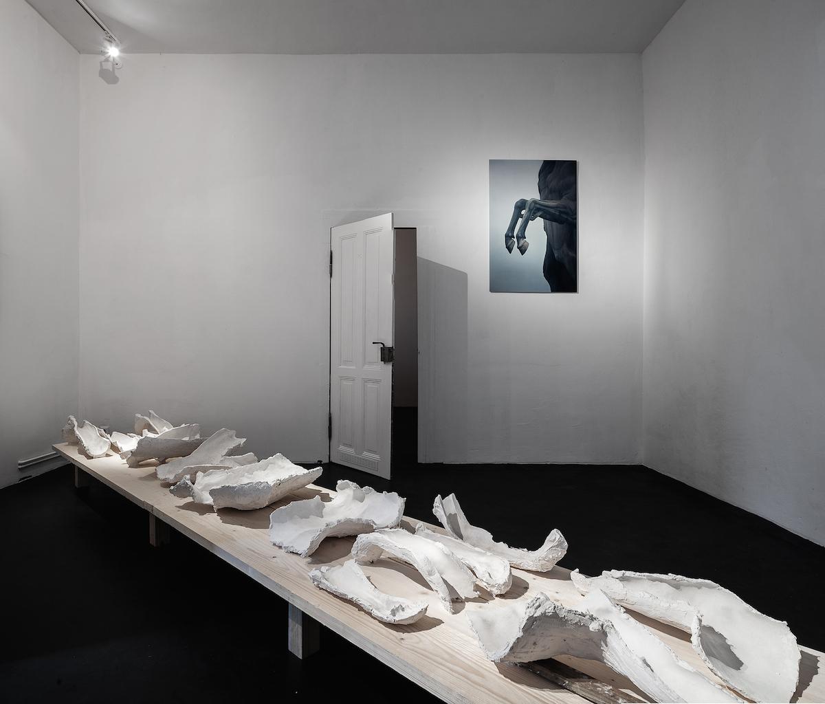 Elmsfeuer / exhibition view 2018 (foto: Markus Georg)